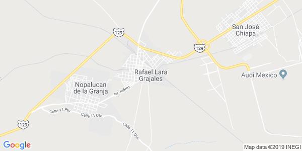 Mapa de RAFAEL LARA GRAJALES