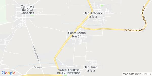 Mapa de RAYÓN