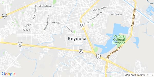 Mapa de REYNOSA