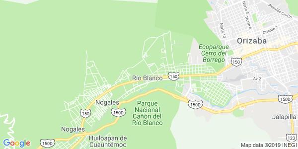 Mapa de RÍO BLANCO