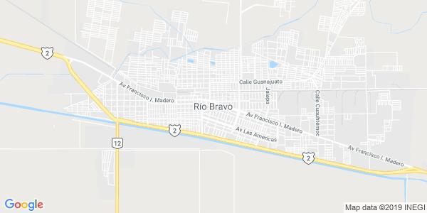 Mapa de R�O BRAVO