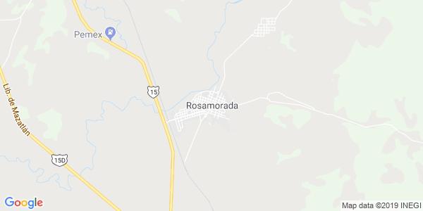 Mapa de ROSAMORADA