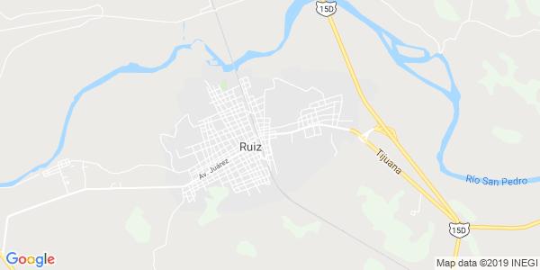 Mapa de RU�Z
