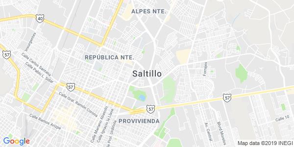 Mapa de SALTILLO