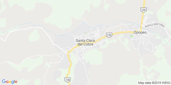 Mapa de SALVADOR ESCALANTE