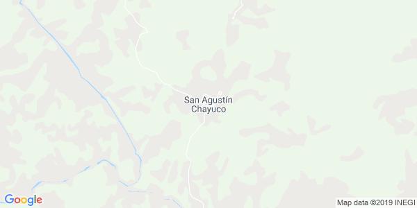 Mapa de SAN AGUST�N CHAYUCO