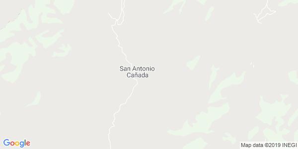 Mapa de SAN ANTONIO CA�ADA