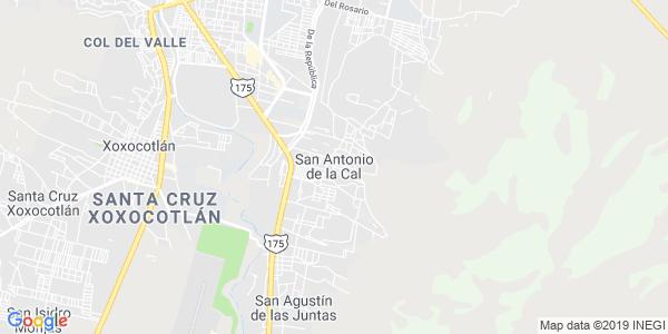 Mapa de SAN ANTONIO DE LA CAL