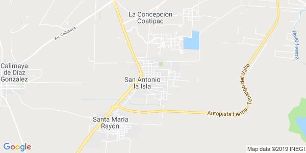 Mapa de SAN ANTONIO LA ISLA