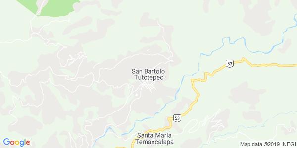 Mapa de SAN BARTOLO TUTOTEPEC