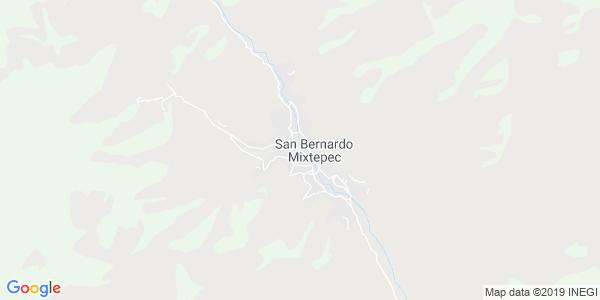 Mapa de SAN BERNARDO MIXTEPEC