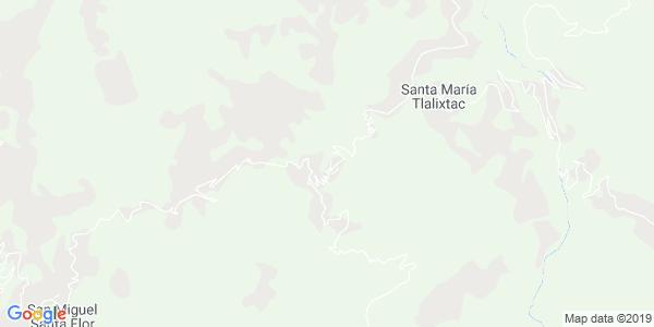 Mapa de SAN FRANCISCO CHAPULAPA