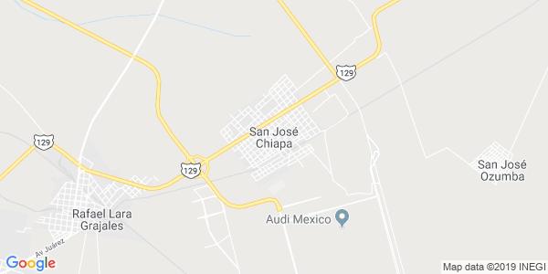 Mapa de SAN JOS� CHIAPA