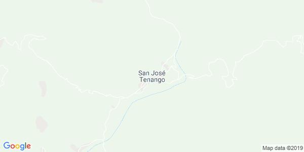 Mapa de SAN JOS� TENANGO
