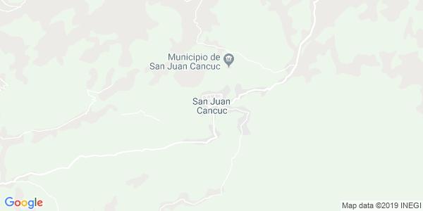 Mapa de SAN JUAN CANCUC