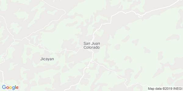 Mapa de SAN JUAN COLORADO