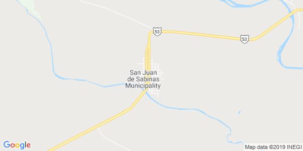 Mapa de SAN JUAN DE SABINAS