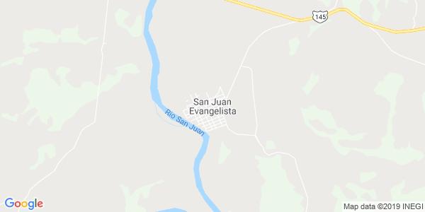 Mapa de SAN JUAN EVANGELISTA