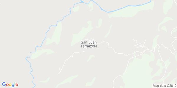 Mapa de SAN JUAN TAMAZOLA
