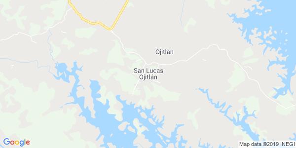 Mapa de SAN LUCAS OJITL�N