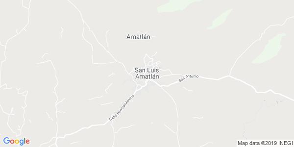 Mapa de SAN LUIS AMATL�N