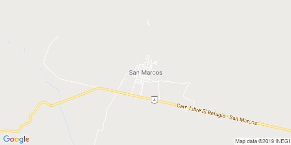 Mapa de SAN MARCOS