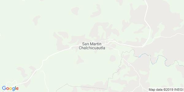 Mapa de SAN MARTÍN CHALCHICUAUTLA