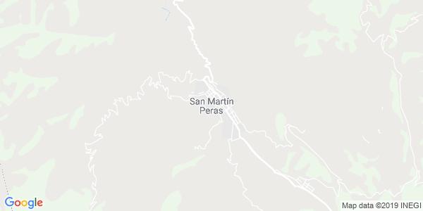 Mapa de SAN MART�N PERAS