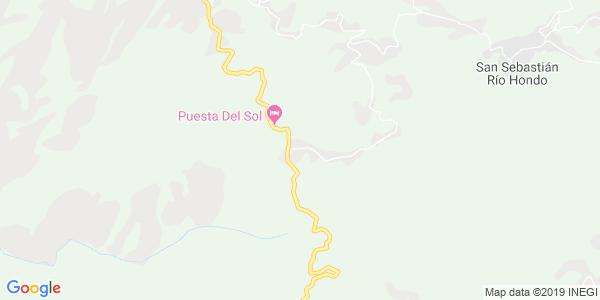 Mapa de SAN MATEO R�O HONDO