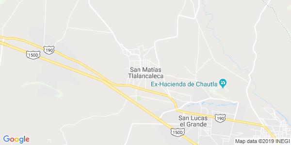 Mapa de SAN MAT�AS TLALANCALECA