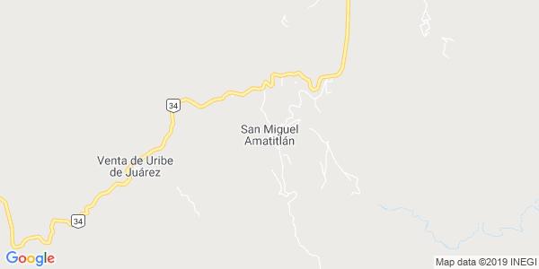 Mapa de SAN MIGUEL AMATITL�N
