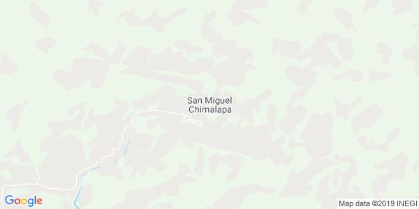 Mapa de SAN MIGUEL CHIMALAPA
