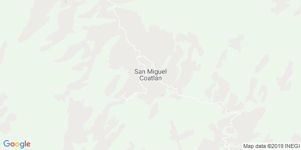 Mapa de SAN MIGUEL COATL�N