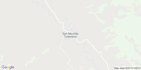 Mapa de SAN NICOL�S TOLENTINO
