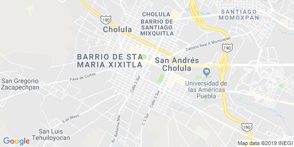 Mapa de SAN PEDRO CHOLULA