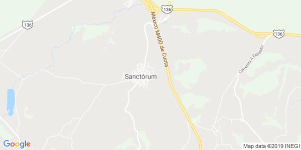 Mapa de SANCTORUM DE LAZARO CARDENAS