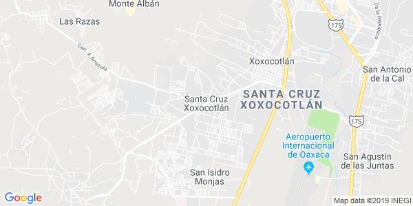 Mapa de SANTA CRUZ XOXOCOTL�N