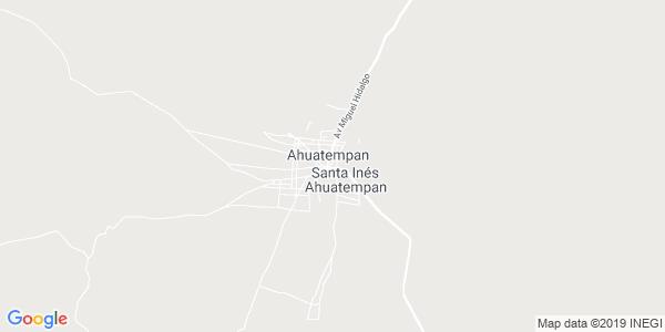 Mapa de SANTA INÉS AHUATEMPAN