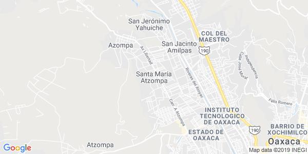 Mapa de SANTA MARÍA ATZOMPA
