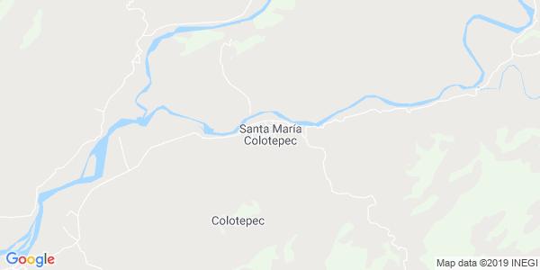 Mapa de SANTA MAR�A COLOTEPEC