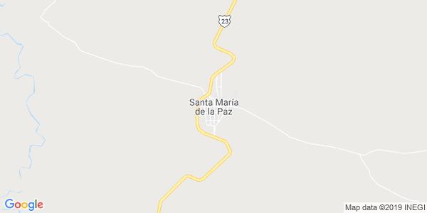 Mapa de SANTA MARÍA DE LA PAZ