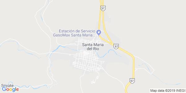 Mapa de SANTA MARÍA DEL RÍO