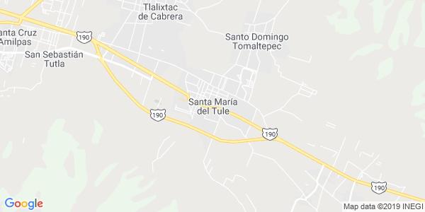 Mapa de SANTA MAR�A DEL TULE