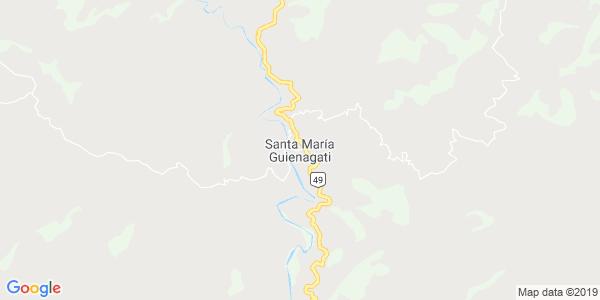Mapa de SANTA MAR�A GUIENAGATI