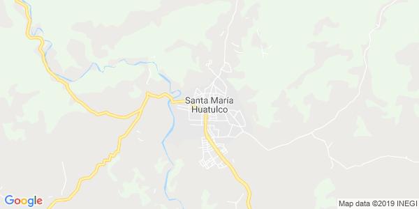 Mapa de SANTA MAR�A HUATULCO