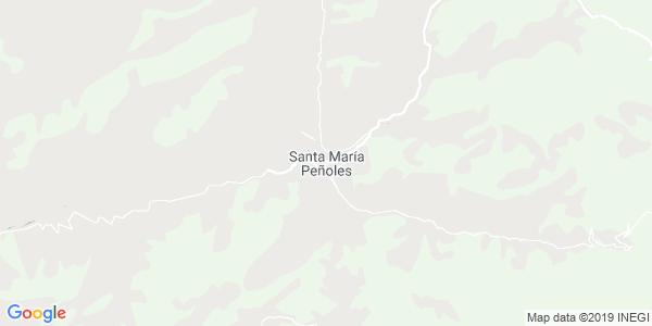 Mapa de SANTA MARÍA PEÑOLES