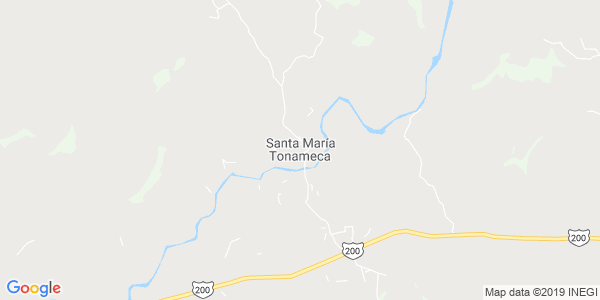 Mapa de SANTA MAR�A TONAMECA