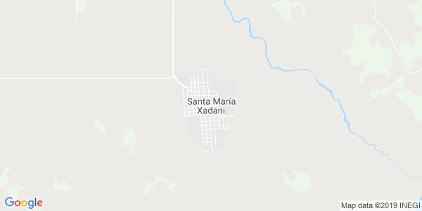 Mapa de SANTA MARIA XADANI