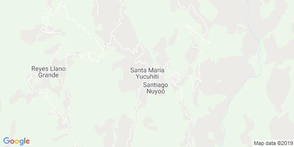 Mapa de SANTA MARÍA YUCUHITI
