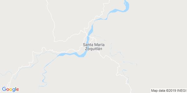 Mapa de SANTA MAR�A ZOQUITL�N